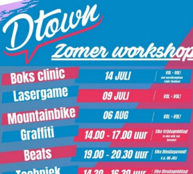 Zomeractiviteiten Dtown en Deventer Kids 08.07