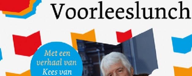 Burgemeester verhalenverteller tijdens Voorleeslunch voor ouderen 15.09
