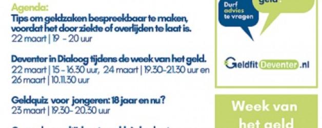 Deventer in Dialoog tijdens de Week van het Geld 15.03